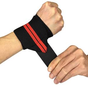 1 Paar Gewichtheben Handgelenk Wraps Daumen Unterstützung Straps Gym Wicklung Handgelenk Armschienen Fitness Cross fit Sport Armband Hand Bands Großhandel