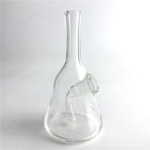 14 мм женский стеклянный Бонг водопроводные трубы с 5.5 дюймов мини толстые ясно леденец буровые вышки воды курительная трубка пьянящий стакан барботер Бонг