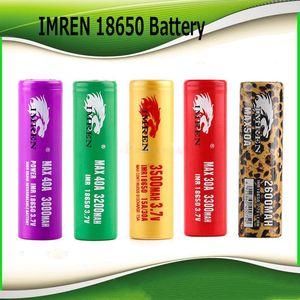 2018 vendita calda Hight Quality IMR 18650 Batteria 3000 mah 3200 mah 3300 mah 3500 mah 40A stampa leopardo MAX50A 50A 2600 mAh batteria ricaricabile CALDO