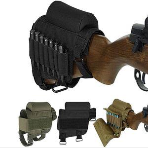 FIRECLUB Tactical Schulterstütze Cheek Rest mit Ammo Carrier-Fall-Halter für .308 .300 Winmag