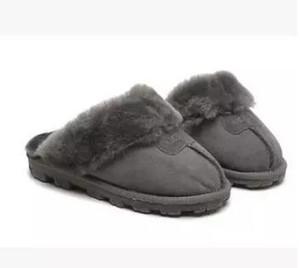 VENTE CHAUDE 2019 haute qualité coton chaud pantoufles hommes et femmes pantoufles bottes courtes bottes de femmes neige bottes concepteur coton d'intérieur pantoufles
