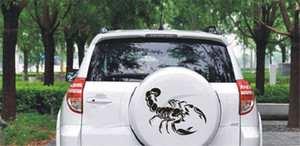 1Pcs Fashion Cute 3D Scorpion car Stickers car styling vinyl decal sticker for Cars Acessories decoration