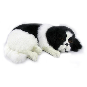 качество мягких реалистичных животных собака плюшевая игрушка моделирования домашних собак животные куклы украшения автомобиля Фотография реквизит 35X25cm DY80043