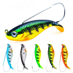 5 Pz Fishing Lure 3.35in / 21.2g Anti Erba Wobbler Esca Artificiale Esche Dure Corpo Laser Pesci Realistici Carp Tackle