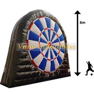 Fuß Dart USA Aufblasbare 3m 4m 5m 6m Kommerzieller Aufblasbarer Fußball Dart Game Board mit Pumpe