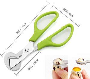 금속 달걀 커터 진주 따개 메추라기 가위 크래커 도구 도매