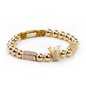 esferas de aço inoxidável Homens de moda pulseira homens jóias encantos pulseiras para mulheres Pulseira presentes homens Jóias férias