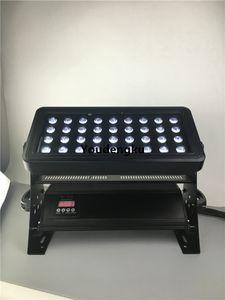 Fluss led esterno dmx 36x10w wall washer led dmx rgbw wall washer led impermeabile 4IN1