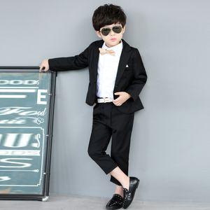 Garçons Mariages Un Buon Costumes enfants 2Pièces (veste + pantalon + Tie) Hot ventes Costume Blazers Smoking formelles pour les enfants plus défunte conception 721