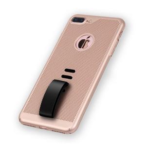 Für Iphone X Fall Breathable Wärmeableitung dünner Telefon-Schutz PC buntes Gestrüpp glatter Touch, der Telefonkasten für iphone 8 plus 7 ausstrahlt