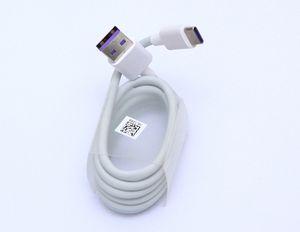 5A Tipi c Kablo Supper Hızlı Şarj Hızı 1 m 3ft usb c veri kabloları için huawei mate 9 10 P10 Samsung s8 not 7 8 android telefon