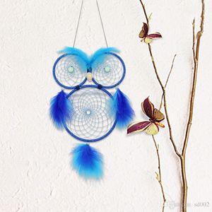 멋진 꿈 포수 밤 빛 페르시와 홈 장식 장식 패션 16 5ms BB 원형 올빼미 모양 원형 바람 종소리