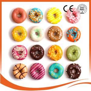 New Chinese manufacturingAutomático Comercial donut maker máquina de rosca, Tanque de Óleo, 3 Conjunto de Moldes 110 v / 220 v frete grátis