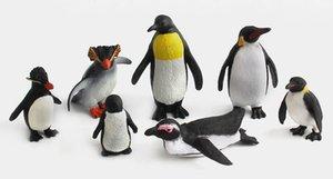 7 Style de simulation Creative Penguin Creative Simulation Penguin Decoratio Décoration Enfants Mer Jouet Simulation animal Penguin modèle statique