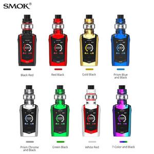 Smok Species 230W Kit avec atomiseur de réservoir TFV8 Baby V2 SMOKTECH Cigarette électronique à écran tactile TC KIT MOD Kits 8 couleurs 100% authentique