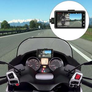 3-Zoll-LCD-Bildschirm Videorekorder Motorradfahren Recorder Durable Auto DVR Tachograph HD Klarheit Automobil