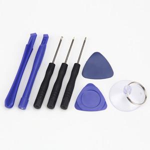 Pour iPhone 5-6-7 mobile Cell Phone Tools Réparateur 8 en 1 Kit réparation Pry Outils d'ouverture Pentalobe Torx Tournevis 100 jeux en gros