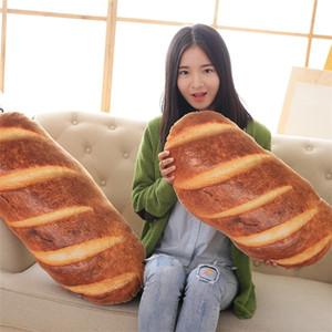 BOOKFONG Gefülltes Brot Spielzeug Emulational Brot Form Kissen Plüsch Haarkissen Kissen Geburtstagsgeschenk für Kinder