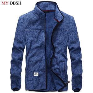 Automne Hiver Polaire Vestes Hommes Outwear Veste Chaude Hommes Épais Polaire Veste Polaire Thermique Casual Manteaux chaquetas hombre