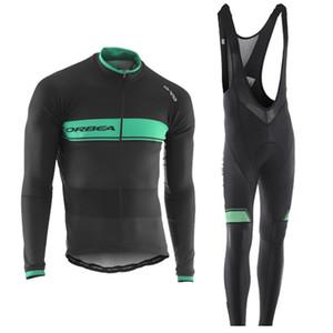 Erkekler Açık Spor ORBEA Bisiklet Jersey Bisiklet MTB Gömlek bib şort takım Dağ Bisikleti Uzun Kollu Nefes Yol Döngüsü Giyim 111403Y