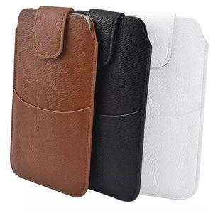 "Карманы талии сумка для Samsung Galaxy S8 S7 S6 S5 плюс PU кожаный чехол сумка телефон случаях для J7 J3 J5 A5 A7 2017 5.5 "" В"