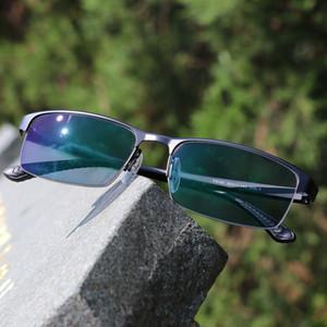 Multifocal progressiva óculos de sol óculos de leitura óculos de leitura fotocrômica Men Points para Reader Near Far Sight Dioptria