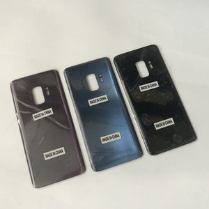 Pour Samsung Galaxy S9 G960U G960F S9 Plus G965F G965U OEM Nouvelle Porte de Batterie Logement En Verre Couverture Arrière Remplacement