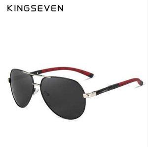 KINGSEVEN 알루미늄 마그네슘 남자 선글라스 Polarized 남자 코팅 거울 안경 oculos 남성 안경 액세서리 남자 K725