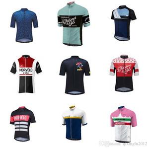 Morvelo Paint Uomo Estate manica corta ciclismo Jersey Top 100% poliestere traspirante Quick Dry MTB Bike Abbigliamento Ciclismo Indossa C1334