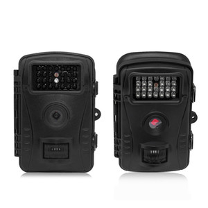 720P HD 트레일 사냥 카메라 와이드 앵글 방수 모션 감지 CMOS 센서 야외 적외선 사냥 트레일 카메라 7 일 배달