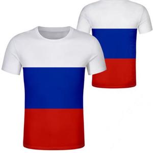 RUSSLAND Tschetschenien T-Shirt frei nach Maß Name Zahl rus Sozialist T-Shirt Flagge russische cccp UDSSR diy rossiyskaya ru Sowjetunion Kleidung