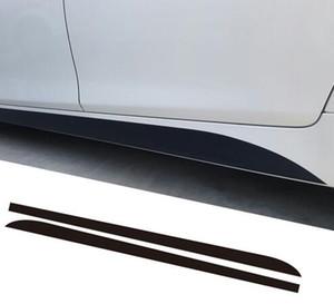 2 pezzi M Performance Side Skirt Racing Stripe Vinyl Decal Sticker per BMW 5 Series F10 F11 7 Series F01 F02