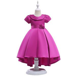 Cloud Little Flower Girls Vestidos para Casamentos Primeira Comunhão Vestidos para Menina Crianças Formal Party Prom Dress