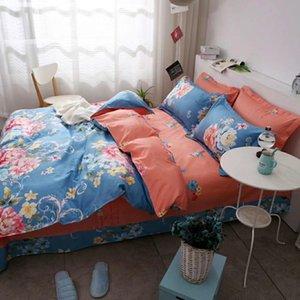 Зеленые суккуленты 3D постельного белья пододеяльник набор цветов растений напечатаны 3шт цветочные постельное белье близнец полный королевский размер дома