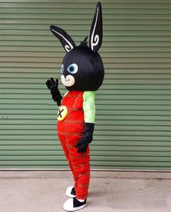 2018 bing Livraison gratuite de haute qualité lapin mascotte Costume personnalisé Taille adulte lapin personnage de dessin animé Mascotte