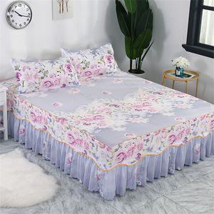 Couvre-lit couvre-lit, couvre-lit, jupes de mode, fleurs, couvre-lits colorés, doublures de lit: 1,8 / 1,5 / 1,2 mètres.