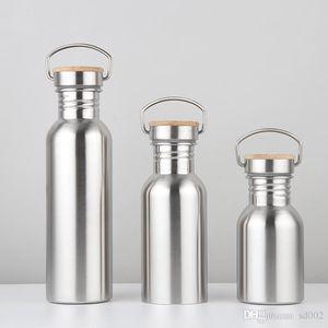 Bottiglia di acqua in acciaio inox bollitore portatile tazza di sport per il fitness all'aperto tazza di conservazione di calore molte dimensioni non tossico per bevande 12jb3 ZZ
