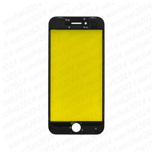 OEM Vetro esterno frontale touch screen Lente in vetro con cornice per iPhone 8 Plus DHL gratuito