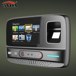 5YOA AF4 Tempo presenza WIFI Sistema di gestione wireless Face Fingerprint Password Dispositivo biometrico Riconoscimento facciale