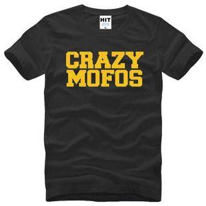 1D One Direction Harry Niall Crazy Mofos Lettera stampato T Shirt Uomo Estate manica corta O-Collo in cotone T-Shirt da uomo Top Tee maschile
