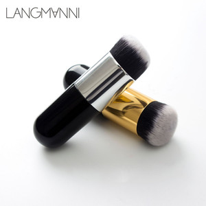 Foundation brushes makeup brush beauty makeup tools round head silver powder brush BB cream cosmetics accessories