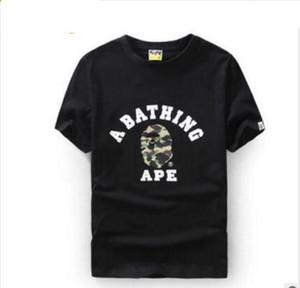 T-shirt da uomo nuova design ape MA1 e squalo testa marchio marea aviatore tasca ad asciugatura rapida casual amanti uomini e donne a maniche corte T-shir