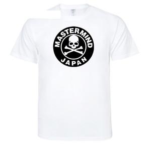 Mens Moda T-shirt Mastermind Crânio Esqueleto Design Japão Imprimir Mulheres Casuais Cor Múltipla Tshirt Amantes Verão O Pescoço Tees Tops