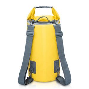 30L 높은 용량 방수 남여 6 색 PVC 야외 모래 해변 드리프트 수영 가방 버킷