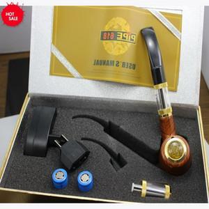 1 قطع أعلى جودة e- الأنابيب 618 vape mod الأنابيب السجائر الإلكترونية المزدوج 900 مللي أمبير خشبي الأنابيب mod قابلة e الأنابيب