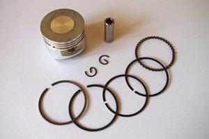 Honda GX31 için piston kiti 39mm motor fırça kesici Piston + yüzükler + pin + klip yedek parça # 13101-ZM5-030