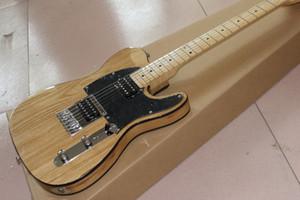 نمط جديد اليدوى 6 سلاسل القيقب الأصابع TELE الغيتار الكهربائي. لون الخشب الطبيعي guitarra.telecaster gitaar.