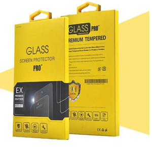 Colorful Paper Packaging Package For Display Tempered Glass Wholesale Retail Screen Protector For iPhone Samsung HTC LG