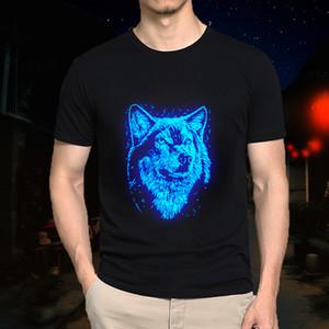 Neue Kinder Erwachsene Sommer Fluoreszierende Assassins Heißer Verkauf Creed T-shirt Männlich / Mens Beiläufige Leuchtende Kinder Kurze Fitness T-shirt S-5XL