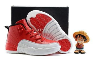 Kids Retros 12s Shoes Baloncesto para niños Boy Girl 12 Gimnasio Red Flu Game French Blue Ring El maestro Taxi Shoes